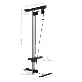 健身綜合訓練器  掛墻深蹲架