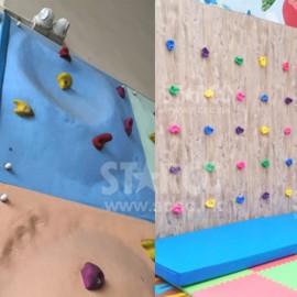 建造攀石墙