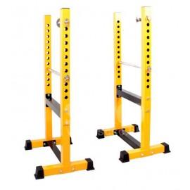 SM - P40 可調節高度分體式半框式深蹲/臥推舉重桿鈴架