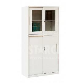 CJP-WJ025上玻下鐵趟門文件櫃