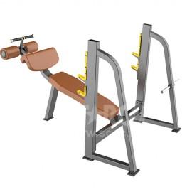 LE4120 下斜推胸訓練器 (Olympic Decline Bench)
