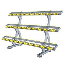 GH7220 三層啞鈴架 (3 Rows Dumbbell Rack)