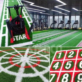 健身室草墊 連長度、數字刻度或自訂圖案 (5x2M)