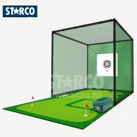 STARCO PG077 高爾夫球發球練習網套裝
