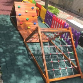 CLOD10 室外攀爬木架