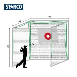 STARCO PG300AL高爾夫球發球練習格(1格)(高質戶外鋁材)