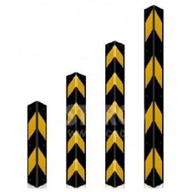 OISCE-005 停車場防撞反光橡膠角條 (直角)