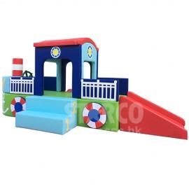 SFBT192 兒童感統活動 軟體爬滑組合小氣船