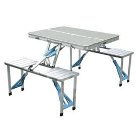 CAMP1506 戶外便攜一連體摺叠枱凳